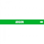 "Accuform CRPK142CTF, 5-1/4″ to 6″ Pipe Marker ""Argon"" Green"