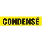 "Accuform CRPK229CTF, 5-1/4″ to 6″ Pipe Marker ""Condense"" Yellow"