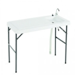 Excalibur ETAB, Folding Table with Faucet, Sink, Hose