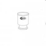 United Scientific Supplies FHGF300, Replacement Glass Funnel, 300ml