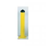 Accuform FMR464, Steel Post Bollard Yellow 6″ Diameter, 36″ High