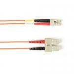 BlackBox FOCMRSM-025M-SCLC-OR, Fiber Patch Cable