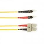 BlackBox FOCMRSM-025M-STSC-YL, PVC Fiber Patch Cable