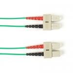 BlackBox FOCMRSM-030M-SCSC-GN, 30-m SC-SC PVC Green Fiber Optic Cable