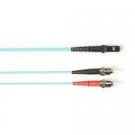 BlackBox FOCMRSM-030M-STMT-AQ, 30-m ST-MTRJ PVC Aqua Fiber Optic Cable
