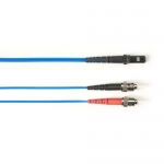 BlackBox FOCMRSM-030M-STMT-BL, 30-m ST-MTRJ PVC Blue Fiber Optic Cable