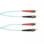 BlackBox FOCMRSM-030M-STST-AQ, 30-m ST-ST PVC Aqua Fiber Optic Cable