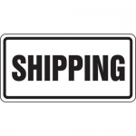 """Accuform FRR255HP, Facility Traffic Sign """"Shipping"""""""