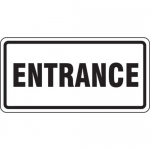 """Accuform FRR257HP, Facility Traffic Sign """"Entrance"""""""