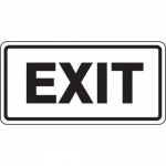 """Accuform FRR260HP, Facility Traffic Sign """"Exit"""""""