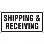 """Accuform FRR266HP, Facility Traffic Sign """"Shipping & Receiving"""""""