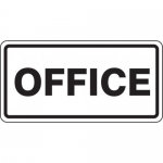 """Accuform FRR269HP, Facility Traffic Sign """"Office"""""""