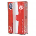 Bowman Dispensers FS001-0111, Wax Paper Dispenser, Clear PETG Plastic