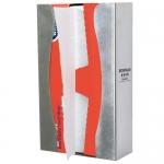 Bowman Dispensers FS001-0300, Wax Paper Dispenser, Stainless Steel