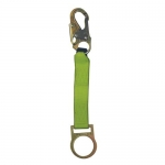 Safewaze FS813, 18″ D-Ring Extender with Standard Snap Hook