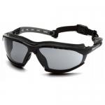 Pyramex GB9420STM, Gray H2MAX Anti-Fog Lens with Black Frame