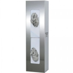 Bowman Dispensers GS-108, Glove Box Dispenser, Double, Space Saver, SS