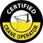 "NMC HH105, Hard Hat Emblem ""Certified Crane …"""