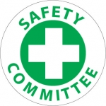"""NMC HH11, Hard Hat Emblem """"Safety Committee"""""""