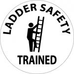 "NMC HH116, Hard Hat Emblem ""Ladder Safety Trained"""