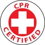 "NMC HH22, Hard Hat Emblem ""CPR Certified"""