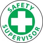 "NMC HH28, Hard Hat Emblem ""Safety Supervisor"""
