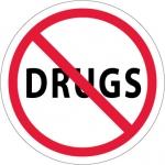 "NMC HH29, Hard Hat Emblem ""Drugs"""