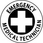 "NMC HH40, Hard Hat Emblem ""Emergency Medical …"""
