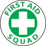 "NMC HH41, Hard Hat Emblem ""First Aid Squad"""