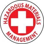 "NMC HH45, Hard Hat Emblem ""Hazardous Materials…"""