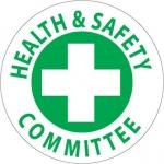 "NMC HH46, Hard Hat Emblem ""Health & Safety…"""