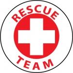 "NMC HH51, Hard Hat Emblem ""Rescue Team"""