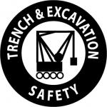 "NMC HH54, Hard Hat Emblem ""Trench & Excavat…"""
