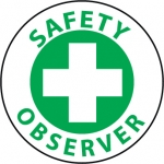 "NMC HH78, Hard Hat Emblem ""Safety Observer"""