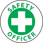 """NMC HH79, Hard Hat Emblem """"Safety Officer"""""""