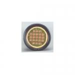 North American Signal Company LEDQR-A, Amber Round Quad Flash LED Head