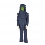 Oberon Company LNS4B-M, LAN4 PPE4 Arc Flash Set w/ Hip Length Coat