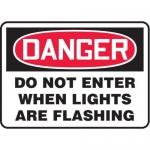 "Accuform MADC003XT, OSHA Danger Safety Sign ""Do Not Enter…"""