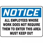 "Accuform MADC821XT10, OSHA Notice Safety Sign ""All Employees…"""