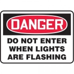 "Accuform MADM013XT, OSHA Danger Safety Sign ""Do Not Enter…"""
