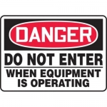 "Accuform MADM114XT10, OSHA Danger Safety Sign ""Do Not Enter…"""