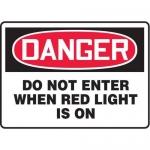 "Accuform MADM151XT, OSHA Danger Safety Sign ""Do Not Enter…"""