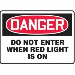 "Accuform MADM151XT10, OSHA Danger Safety Sign ""Do Not Enter…"""