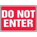 "Accuform MADM543XF, Safety Sign ""Do Not Enter"" Dura-Fiberglass"