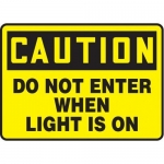 "Accuform MADM620XT, OSHA Caution Safety Sign ""Do Not Enter…"""