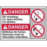 "Accuform MAFC158XT10, Bilingual Danger Safety Sign ""No Smoking…"""