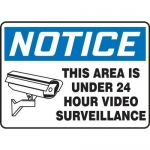"Accuform MASE815XF10, OSHA Notice Safety Sign ""This Area Is Under…"""