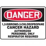 """Accuform MCAW114XT10, OSHA Danger Safety Sign """"Cancer Hazard…"""""""
