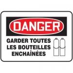 "Accuform MCCP003XT10, Bilingual French Sign ""Garder Toutes Les…"""