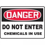 "Accuform MCHG026XV10, OSHA Danger Safety Sign ""Do Not Enter…"""